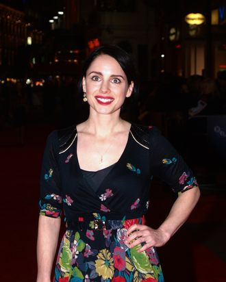 British actress Laura Fraser arrives for the premiere of her latest film 'The Boys Are Back' on October 21, 2009 in London's Leicester Square. AFP PHOTO/ Max Nash (Photo credit should read MAX NASH/AFP/Getty Images)