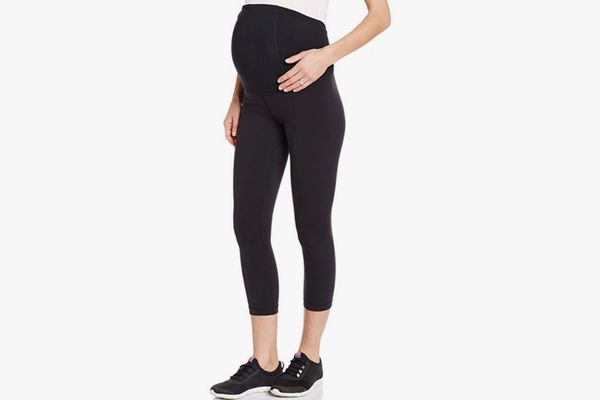 Ingrid & Isabel Workout Capri with Crossover Panel