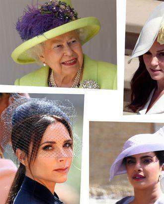 Hats at the royal wedding.