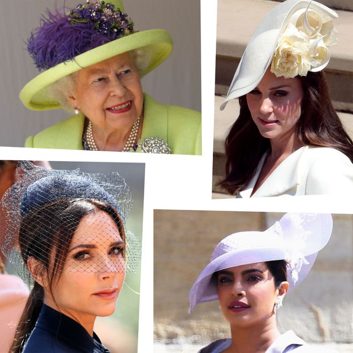 Hats at the royal wedding.