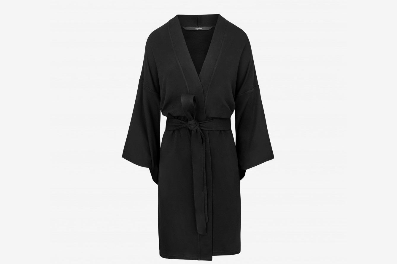 86a27b0787 The best lightweight bamboo robe. Agatinia Kimono Robe