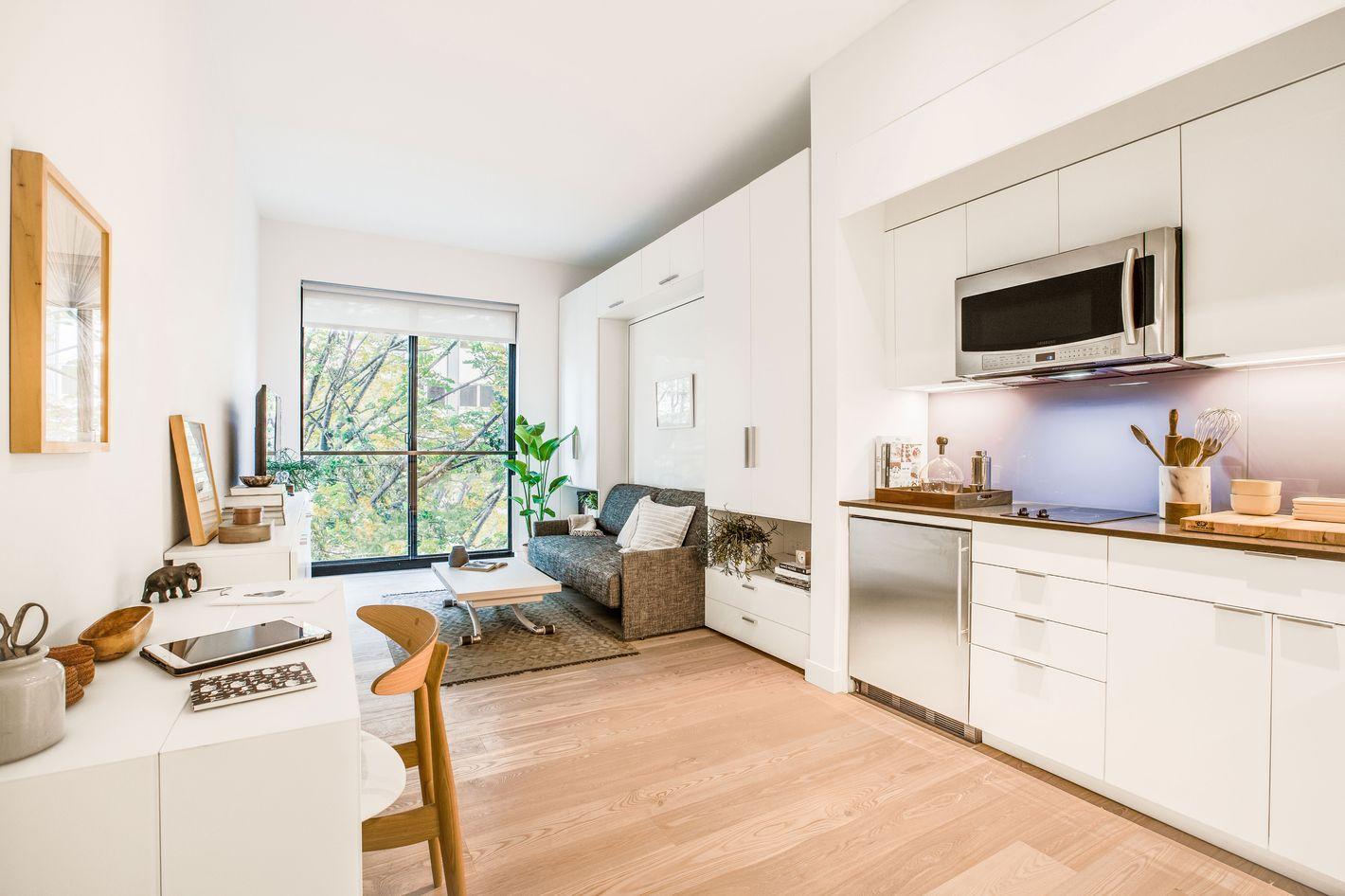 24 micro apartments under 30 manhattan micro loft by