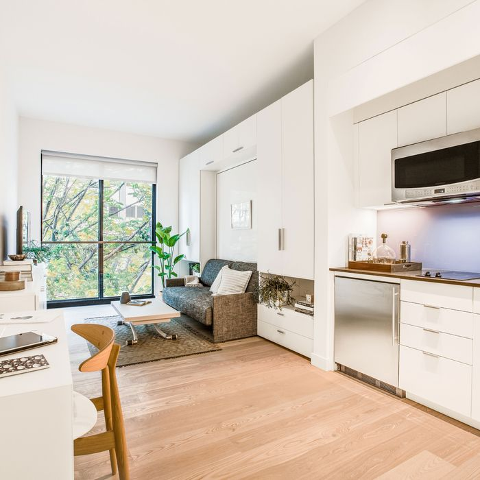 A Preview Tour Of New York S First Micro Unit Apartment Building