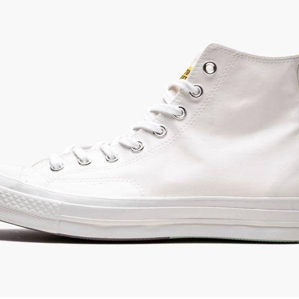"Converse Chuck 70 Hi ""Chinatown Market - UV""  White Platform Sneakers"