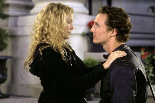 HOW TO LOSE A GUY IN 10 DAYS, Matthew McConaughey, Kate Hudson, 2003.