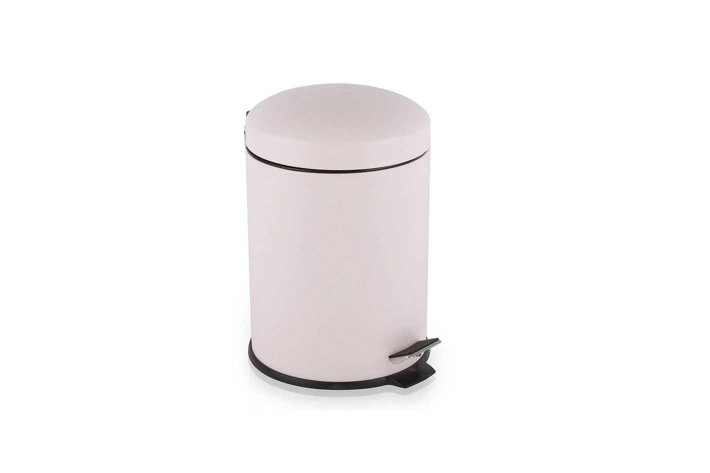 A Pastel Pink Bin Is A Sophisticated Upgrade Of Boring Stainless Steel