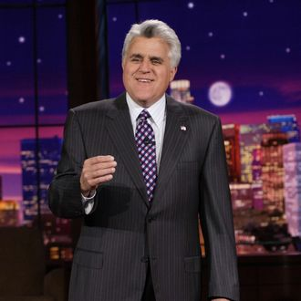 THE TONIGHT SHOW WITH JAY LENO -- Episode 3406 -- Pictured: Host Jay Leno on July 19, 2007 (Photo by Margaret Norton/NBC/NBCU Photo Bank via Getty Images)