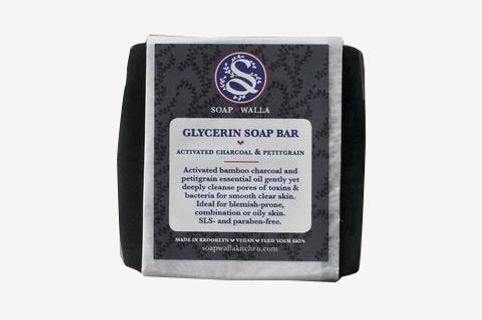 Soapwalla - Activated Charcoal & Petitgrain Soap Bar