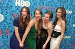 "NEW YORK, NY - APRIL 04:  (L-R)  Actress Zosia Mamet, actress Jemima Kirke, actress/creator/executive producer Lena Dunham, and actress Allison Williams attend the HBO with The Cinema Society host the New York premiere of HBO's ""Girls"" at the School of Visual Arts Theater on April 4, 2012 in New York City.  (Photo by Stephen Lovekin/Getty Images)"