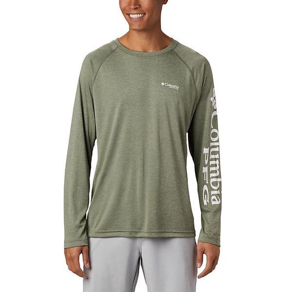 Columbia Men's Terminal Tackle Heather Long Sleeve Shirt