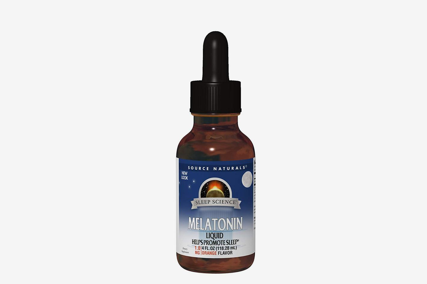 Source Naturals: Melatonin Orange 2 oz. Liquid