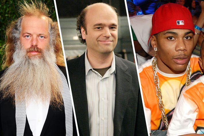 Rick Rubin, Scott Adsit, Nelly.