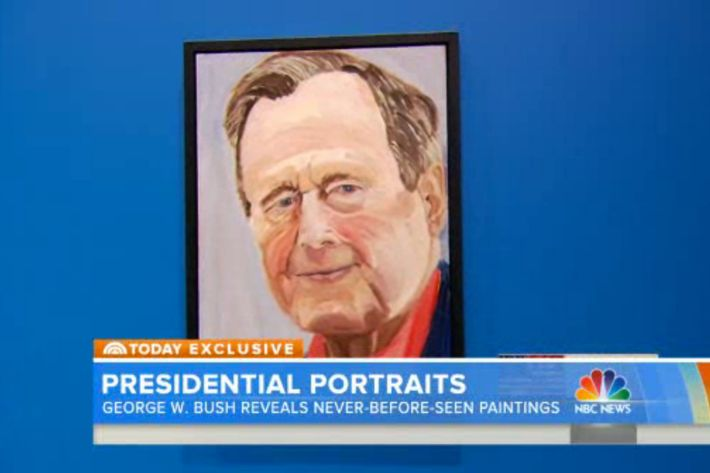 Check Out A New Set Of George W Bush Paintings Including The One
