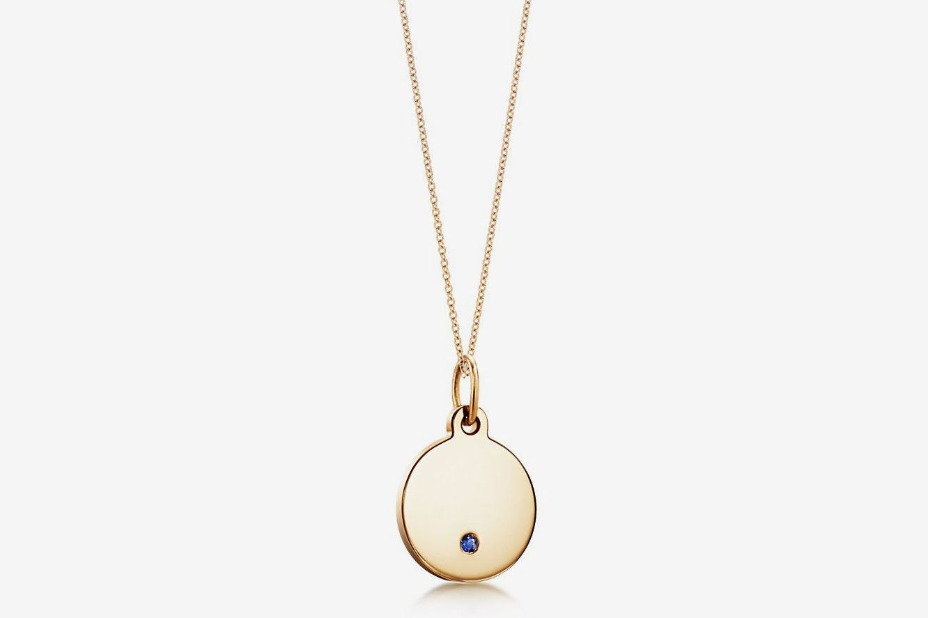 Tiffany & Co. Round Tag Necklace