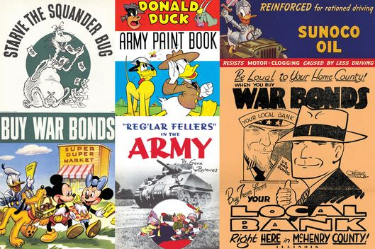 Image result for NAZI ARMS INDUSTRY CARTOON