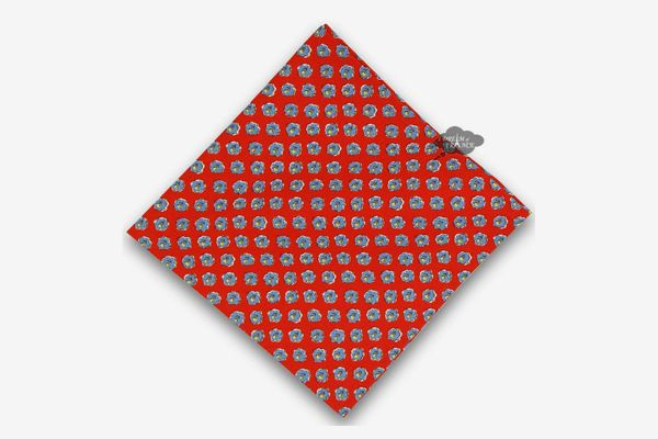 Le Cluny French Linens Red Cotton Napkin
