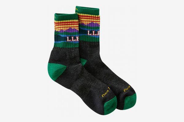L.L. Bean Men's Darn Tough Katahdin Micro Crew Sock