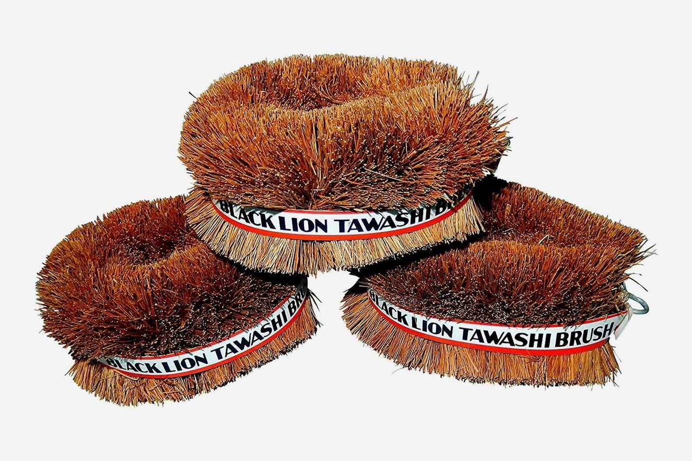 Japanese Tawashi Brushes for Cleaning, Set of 3