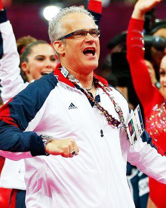 US Olympic gymnastics coach John Geddert