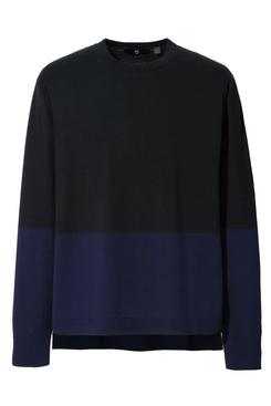Uniqlo J+ Silk-Cotton Crew Neck Long-Sleeve Sweater