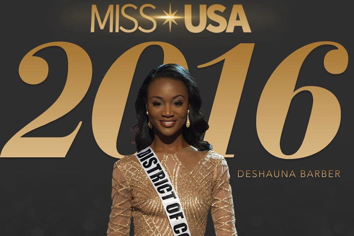 Miss USA 2016, Deshauna Barber. Miss USA/Instagram