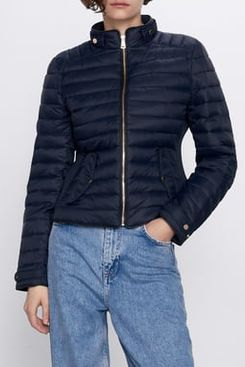 Zara Comfortemp Thermal Insulation Puffer Jacket