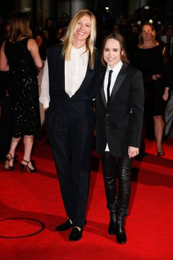 Samantha Thomas and Ellen Page.