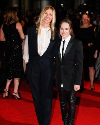 Samantha Thomas and Ellen Page.