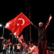 Turkey stand against failed military coup attempt
