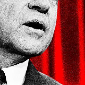 Richard Nixon During Speech