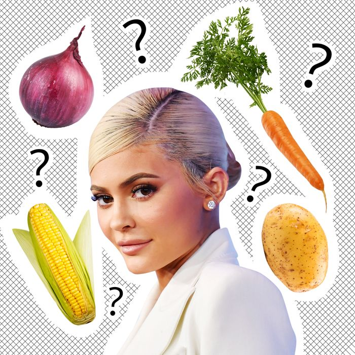 Kylie Jenner Ordered a Single Vegetable — But Which One?