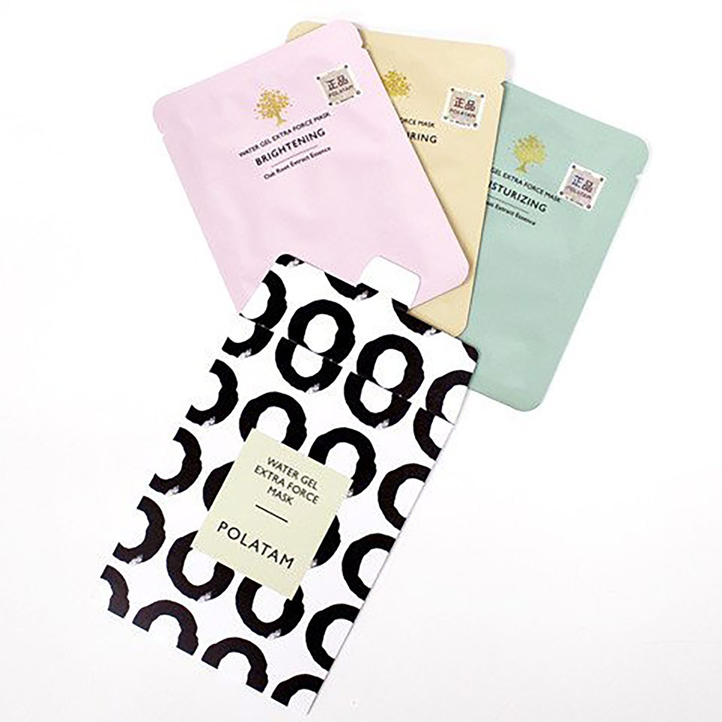 Polatam Water Gel Extra Force Sheet Mask: Set of 3