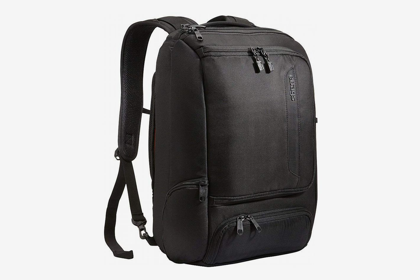 "194e1216c eBags Professional Slim Laptop Backpack, Black (Fits 17"" Laptop)"
