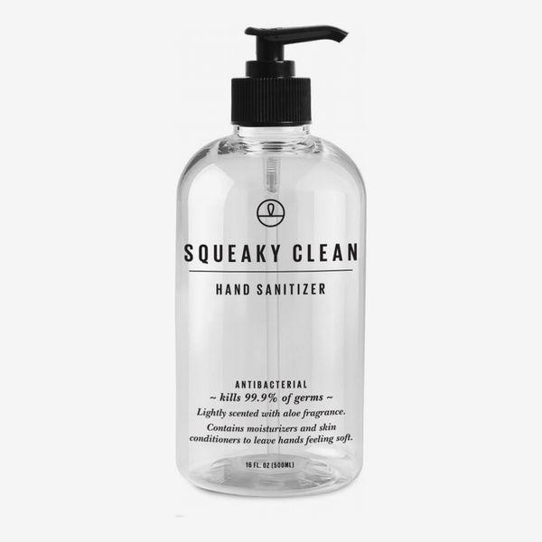 Squeaky Clean Antibacterial Hand Sanitizer with Aloe Vera
