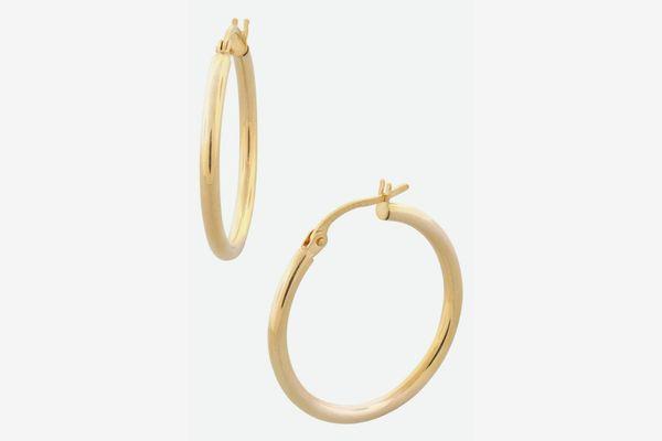 Bony Levy Gold Hoop Earrings