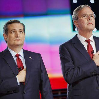 CNN And Facebook Host The Republican Presidential Primary Debate In Las Vegas