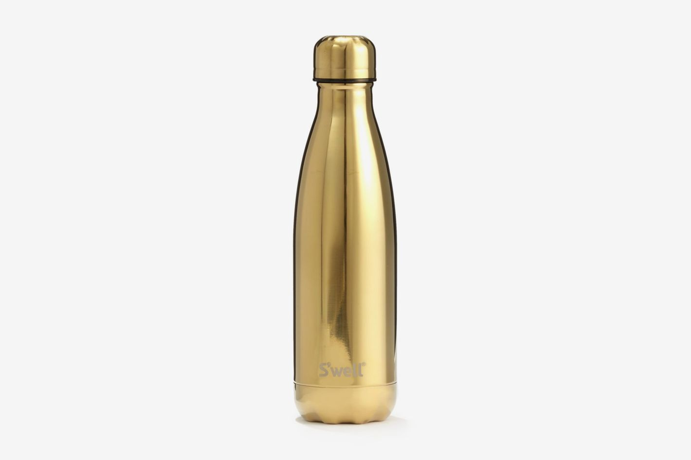S'well Gold Water Bottle/17 oz.