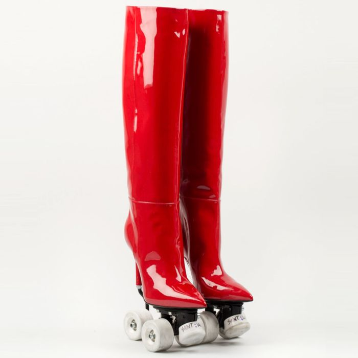 38e9894da54 Now Is Your Chance to Own Designer High-Heeled Roller Skates