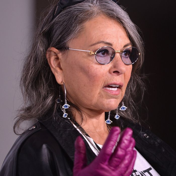Roseanne Barr, proud owner of Roseanne's Joint.