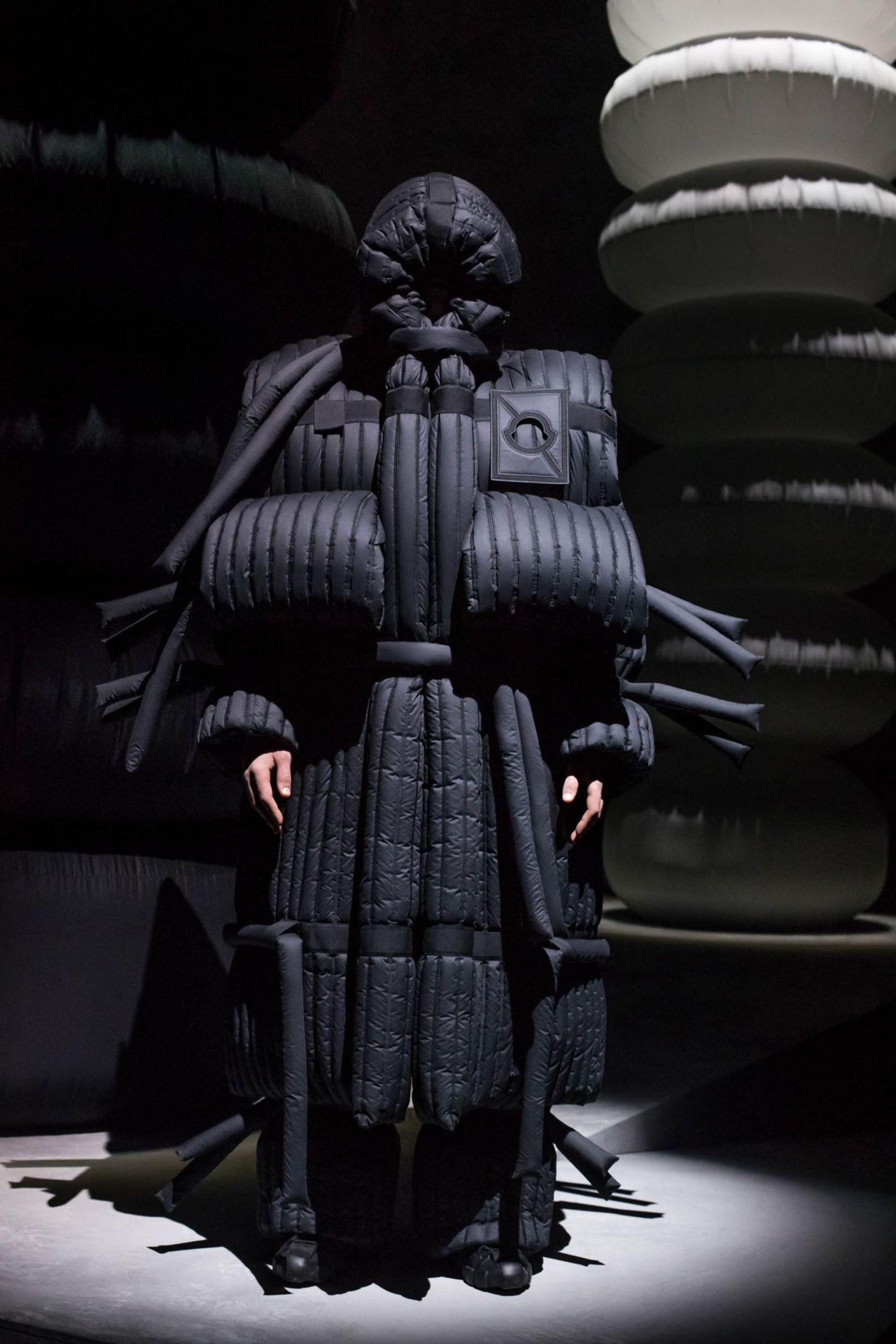 eb6f2fd19182 Moncler Made Puffer Coat Gowns and They're Genius