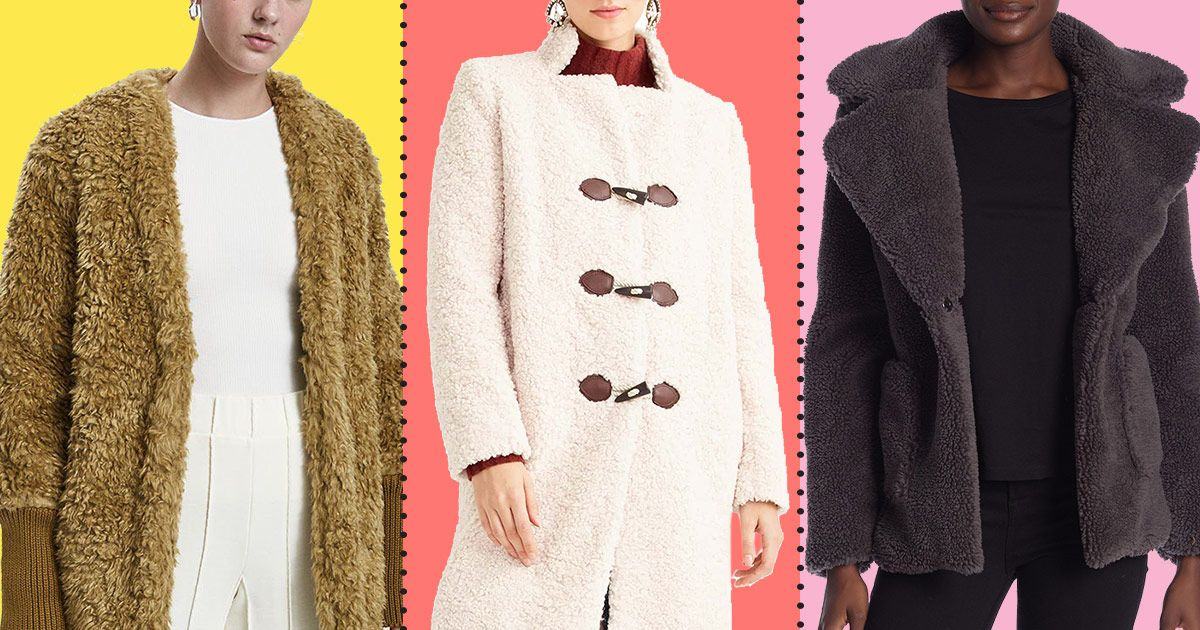 A Bunch of Fuzzy, Furry Teddy Coats Are Up to 70 Percent Off