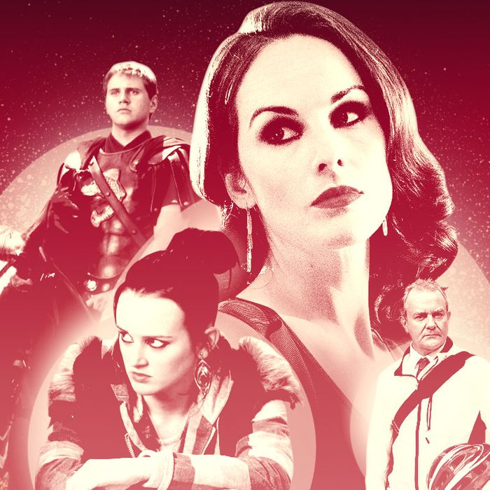 Downton Abbey' Cast's Most Un-'Downton' Television Roles
