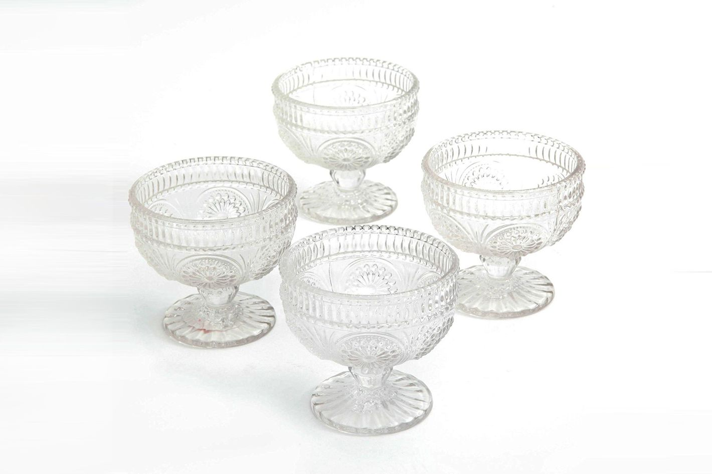 The Pioneer Woman Glass Sundae Cups, Set of 4