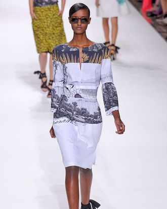 ANTM Cycle 10 Reject Fatima Siad Walks Dries Van Noten