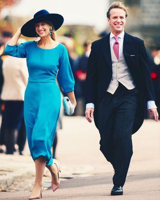 Lady Gabriella Windsor and Thomas Kingston.