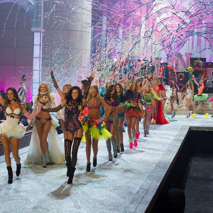 The 2011 Victoria's Secret fashion show.