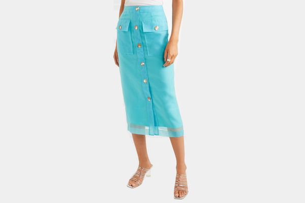 Rejina Pyo Lily Button-Detailed Skirt