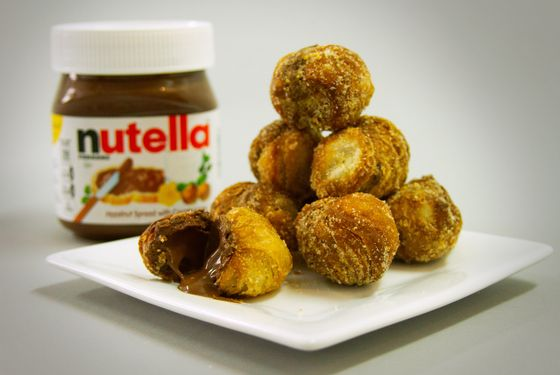 """There's also going to be a """"Nutella sampling station."""""""