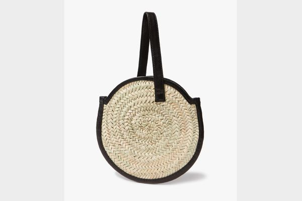Parme Marin Tadlak Small Bag in Palm/Black