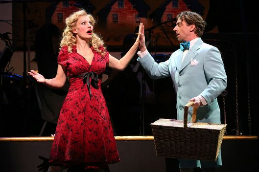 Rachel York, Christian Borle in Little Me